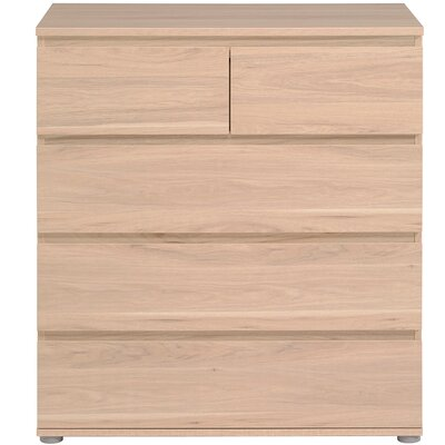 Neo 5 Drawer Chest Color: Dakota Oak