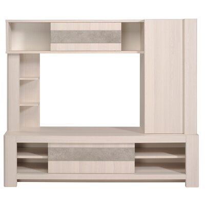 Chris Entertainment Center Color: Nordic Ash