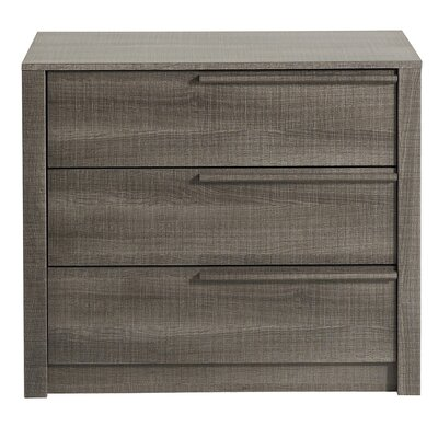 Split 3 Drawer Chest