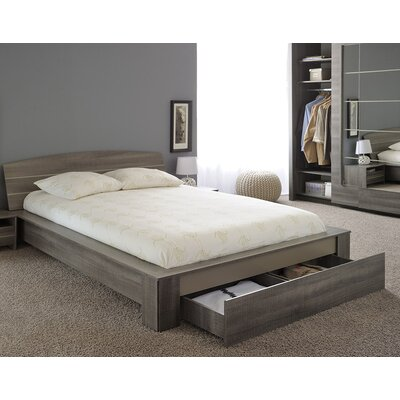 Split Queen Platform Bed