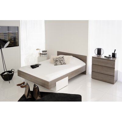 Elma Full/Double Storage Platform Bed Finish: Silver Walnut