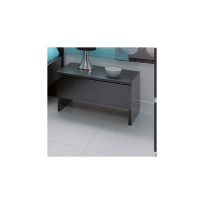 Bianca Nightstand Finish: Black