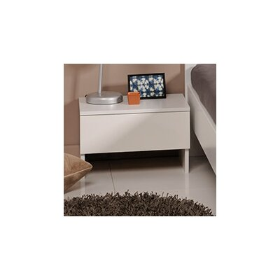 Bianca Nightstand Color: White