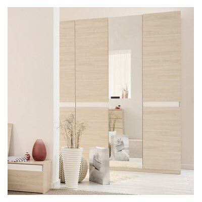 Mallow 3 Door Armoire Finish: Sesame
