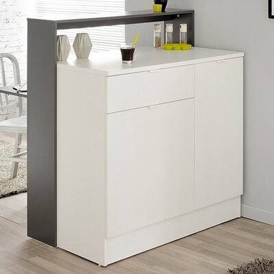 Key Transformable Mini Bar Finish: Gray Anthracite