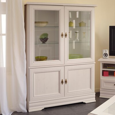 Elise Glass Door Standard China Cabinet