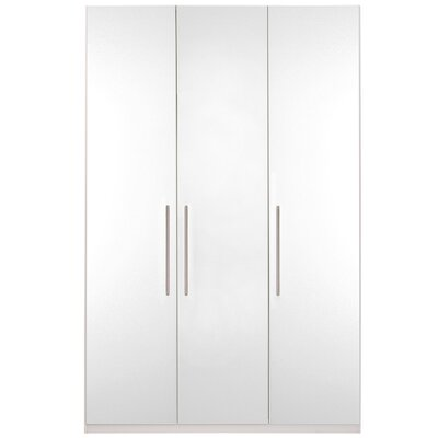 Optimeo Armoire Finish: White Gloss