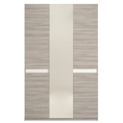 Mallow 3 Door Armoire Finish: Silex