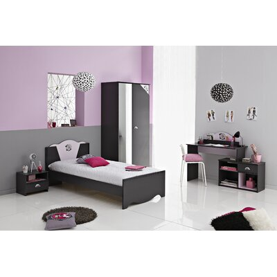 Tatoo Twin Platform Bed