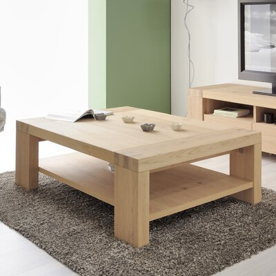 Aaron Coffee Table with Magazine Rack