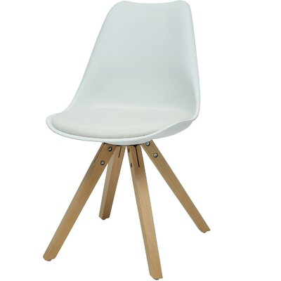 Verga Side Chair Finish: White