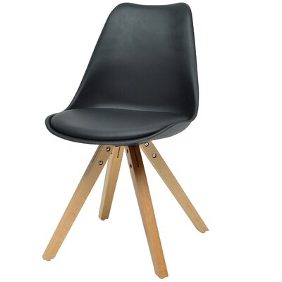 Verga Side Chair Finish: Black