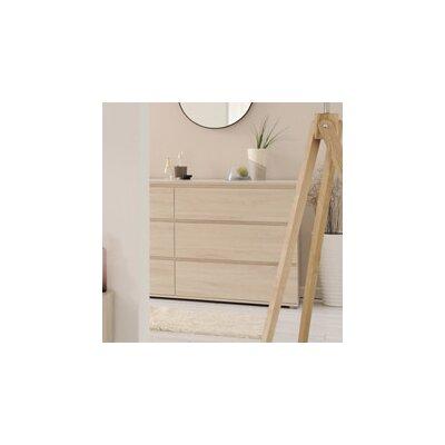 Mallow 6 Drawer Dresser Color: Sesame Oak