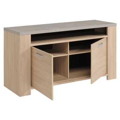 Ronny Contemporary Wood Sideboard