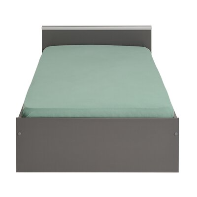 Torrence European Twin Platform Bed Color: Dark Gray