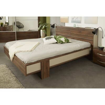 Caley Platform Bed Size: Full, Color: Brazilian Walnut