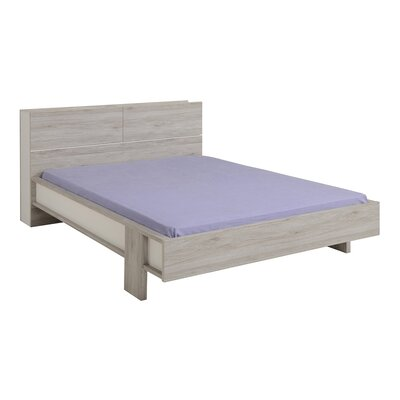 Caley Platform Bed Size: Full, Color: Portofino Gray