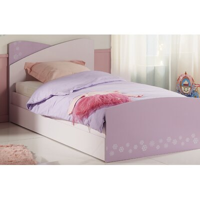 Denault Twin Platform Bed with Trundle