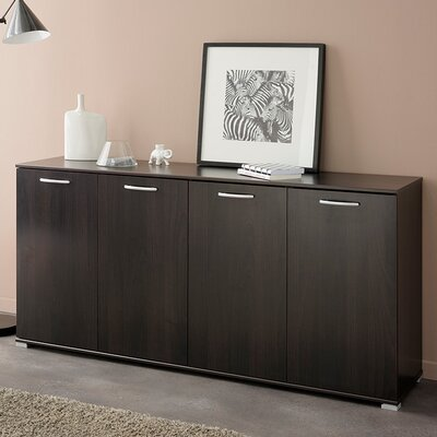 Element Sideboard Color: Dark Brown