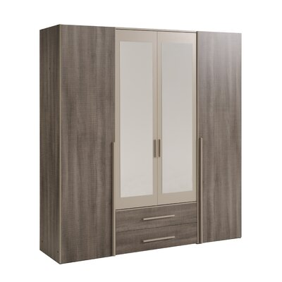 Jakes 4 Door Wardrobe Armoire