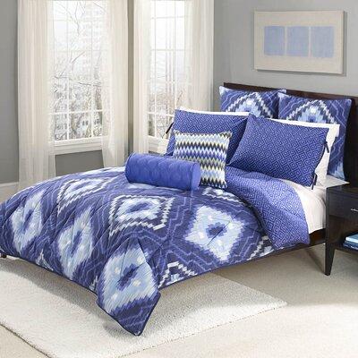 Wild Olive 8 Piece Comforter Set Size: King