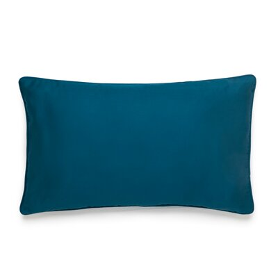 Midnight Storm Cotton Lumbar Pillow