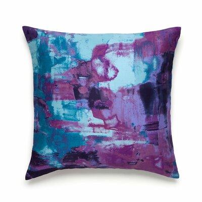 Midnight Storm Cotton Throw Pillow