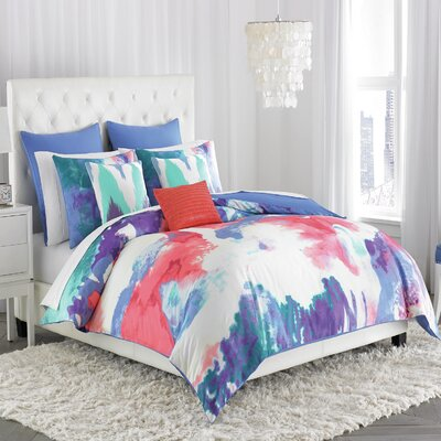 Painterly Duvet Cover Size: Twin