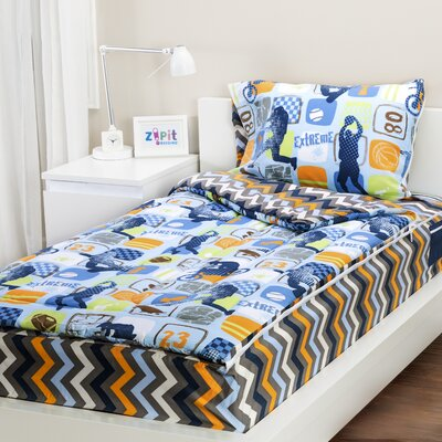 Extreme Sports 3 Piece Twin Comforter Set