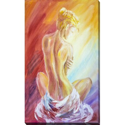 'Nude I' Painting Print on Wrapped Canvas 704-3962_3660