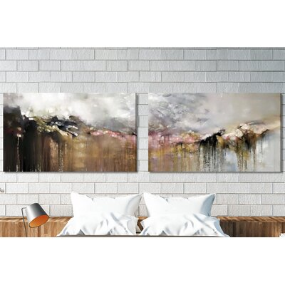 'As Tears Go by Psalm 116:8' Painting Print Multi-Piece Image on Wrapped Canvas IVYB3833 39632157
