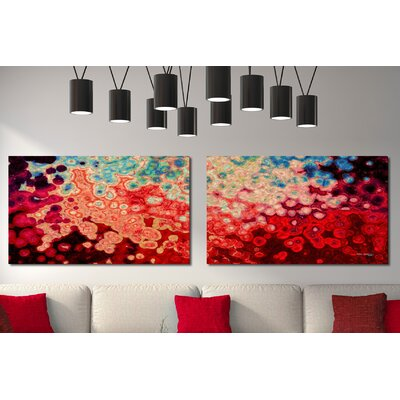 'Race to the Top' Graphic Art Print Multi-Piece Image on Wrapped Canvas Size: 18