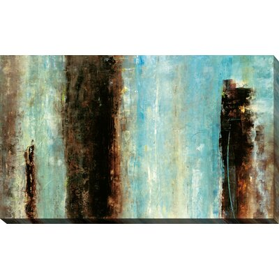 'Bistro' Painting Print on Wrapped Canvas Size: 18