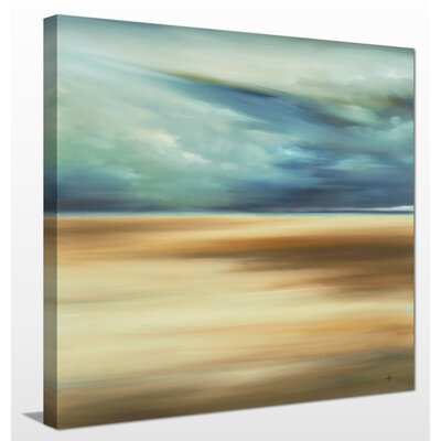 'Scape 109' Painting Print on Wrapped Canvas Size: 18