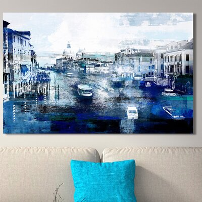 'Venice, Italy 1I Graphic Art Print on Wrapped Canvas Size: 18
