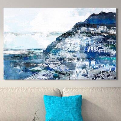'Positiano, Amalfi Coast I' Graphic Art Print on Wrapped Canvas Size: 18