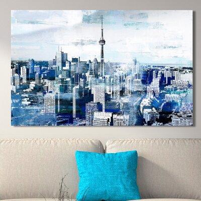 'Toronto, Ontario I' Graphic Art Print on Wrapped Canvas Size: 18