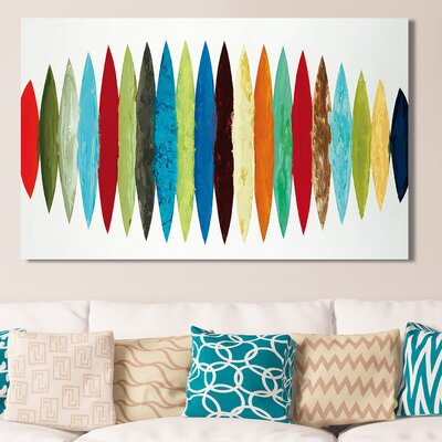 'Ocean Time' Acrylic Painting Print on Canvas Size: 18
