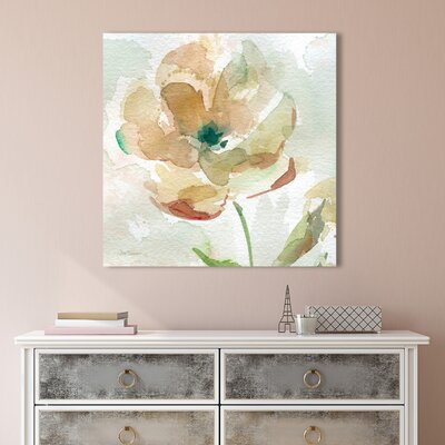 'Sunny Afternoon III' Acrylic Painting Print on Canvas Size: 18