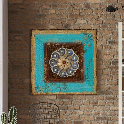 'Exotic Medallion I' Painting Print on Wrapped Canvas Size: 18