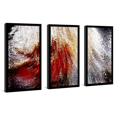 'Created to Become Like Christ. Genesis 1:26' Framed Acrylic Painting Print Multi-Piece Image on Glass Size: 25.5