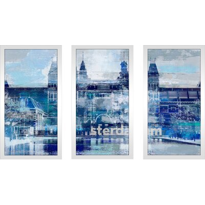 'I Amsterdam I' Framed Graphic Art Print Multi-Piece Image Size: 25.5