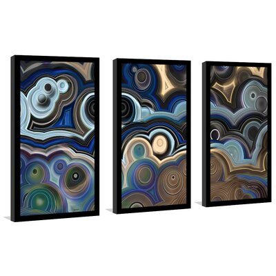 'Pursue What is Good, 1 Thessalonians 5:15' Framed Acrylic Painting Print Multi-Piece Image on Glass Size: 25.5
