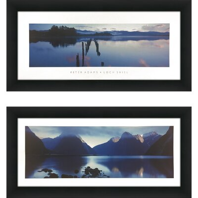 'Loch Shiel' 2 Piece Framed Photographic Print Set