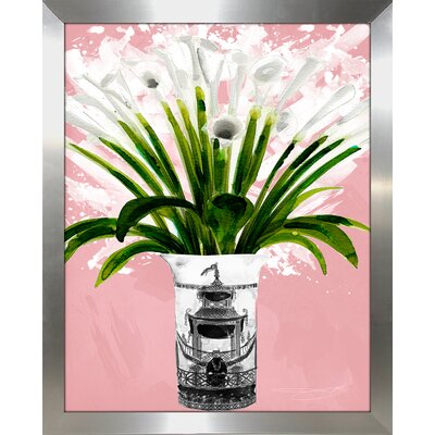 'Lillys' Print Format: Silver Framed Paper, Size: 15.5