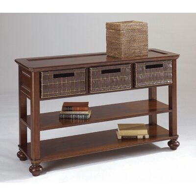 Cheap Lane Furniture Eddie Bauer Hunts Point Basket Sofa Table (LNE1026)