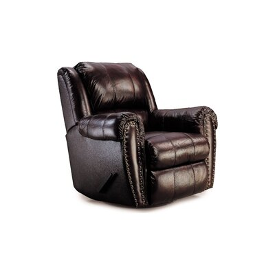 Summerlin Leather Chaise Recliner