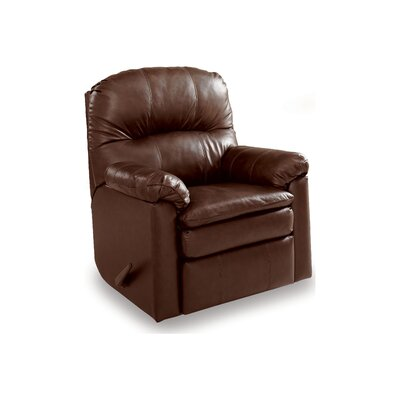 Touchdown Matching Leather Recliner