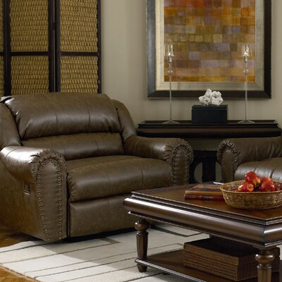 Summerlin Snuggler� Leather Chaise Recliner