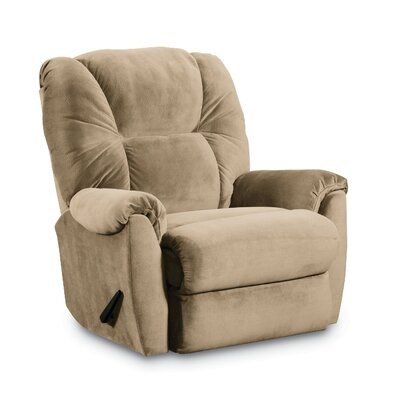 Webb Zero Gravity Recliner Color: Tan